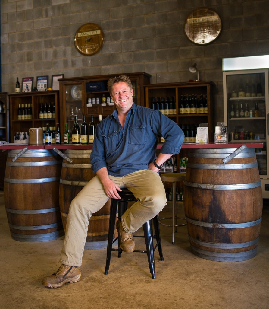 Ben Clifton - from Beechworth Cider & Amulet Wines.